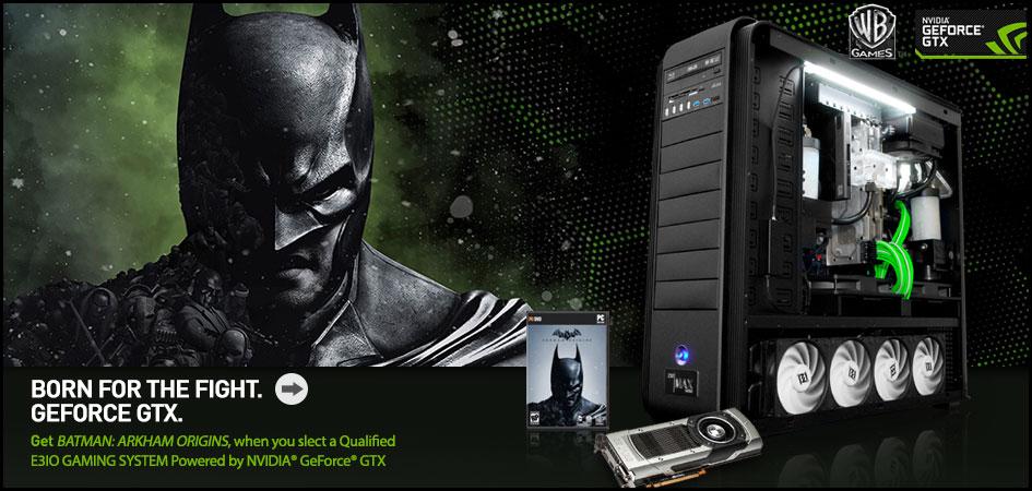 E3iO Batman Arkham Origins Promo