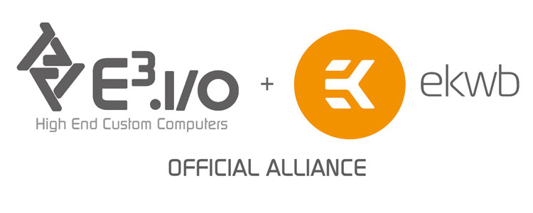 E3iO Becomes Official Partner of EK Water Blocks