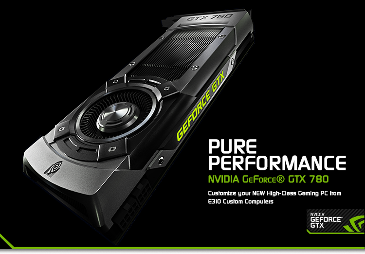 Nvidia GeForce GTX 780 Gaming PC
