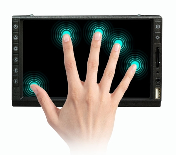 "7"" Capacitive Touch Screen supports Up to 10 Simultaneous Touch - supports (1920x1080)"