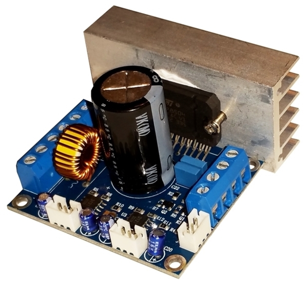 Internal Audio Amplifier 50W x 4 Channel with denoiser function