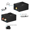 Picture of Digital Coax and Optical Toslink to Analog Audio Converter + 12v to 5v Power Supply