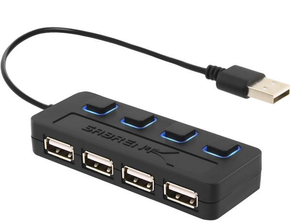 Picture of 4-Port USB 2.0 Hub