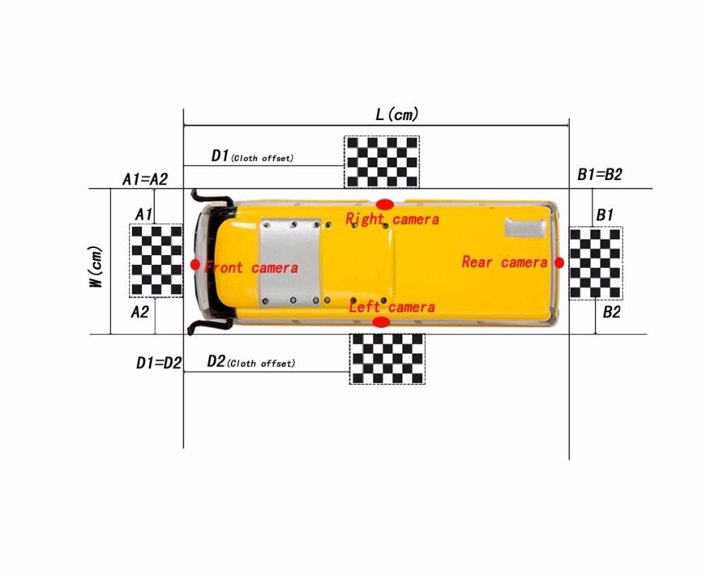360 Degree Bird View Dvr Recording For Bus Truck Or Rvs Carpc Diagram