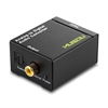 Picture of Analog to Digital Coax and Optical Toslink Audio Converter + 12v to 5v Power Supply