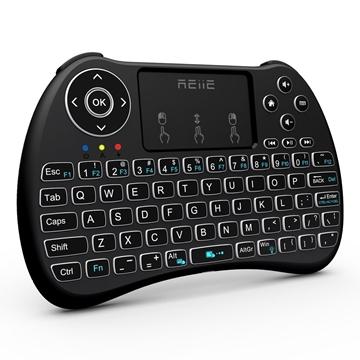 Backlit Wireless Mini Handheld Remote